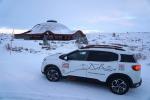 Citroen White Cruise, C5 Aircross arriva al circolo polare