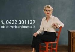 Testimonial dello spot che invita a chiedere il risarcimento in caso di errori è Enrica Bonaccorti. Le sue scuse: «Io in buona fede»