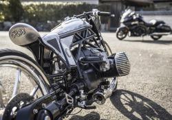 Dal Giappone custom BMW nata intorno a nuovo motore boxer