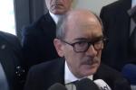 Il procuratore della Direzione Antimafia Cafiero De Raho