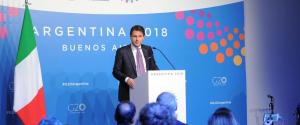 """Manovra, Conte: """"Con l'Ue a lavoro per una soluzione concreta ma senza tradire gli italiani"""""""