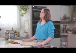 La prova della food blogger Sonia Peronaci per l'Unione Italiana dei Ciechi e degli Ipovedenti