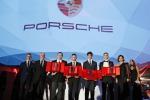 Porsche ha premiato i campioni Carrera Cup Italia 2018