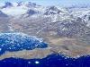 La Groenlandia forografata dallaereo della Nasa impegnato nel progetto IceBridge (fonte: NASA, Joe Mac Gregor)
