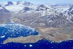 La Groenlandia forografata dall'aereo della Nasa impegnato nel progetto IceBridge (fonte: NASA, Joe Mac Gregor)