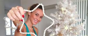 Albero di Natale per la bella Diletta Leotta