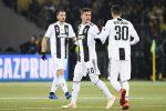 Champions, la Juve battuta dallo Young Boys ma chiude in testa al girone