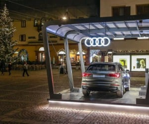 Al Fashion Weekend 2018 nuova Audi Q3 'regina' di Cortina