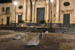 Crolli nella chiesa di Santa Venerina