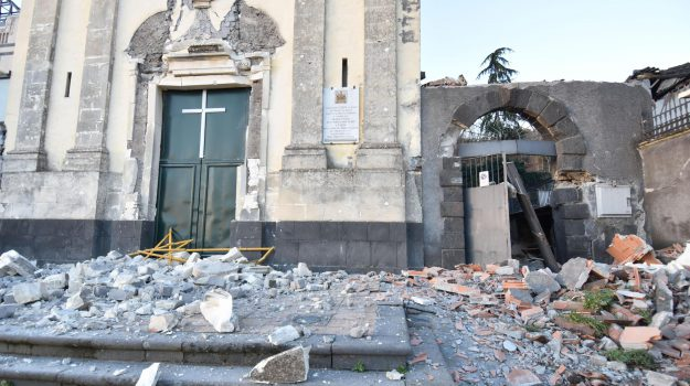 terremoto, Catania, Cronaca