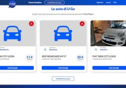Leasys U-Go, car sharing fra privati con formule affitto