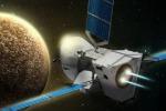 Rappresentazione artistica della sonda Bepi Colombo in viaggio verso Mercurio (fonte: Astrium)