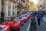 Le Ferrari più belle sfilano nel cuore di Palermo: le immagini del raduno