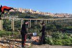 Scoperta una discarica abusiva a Villaseta ad Agrigento, indagato il proprietario