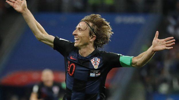 Modric pallone d'oro, pallone d'oro, vincitore pallone d'oro, Cristiano Ronaldo, Leo Messi, Luka Modric, Sicilia, Sport