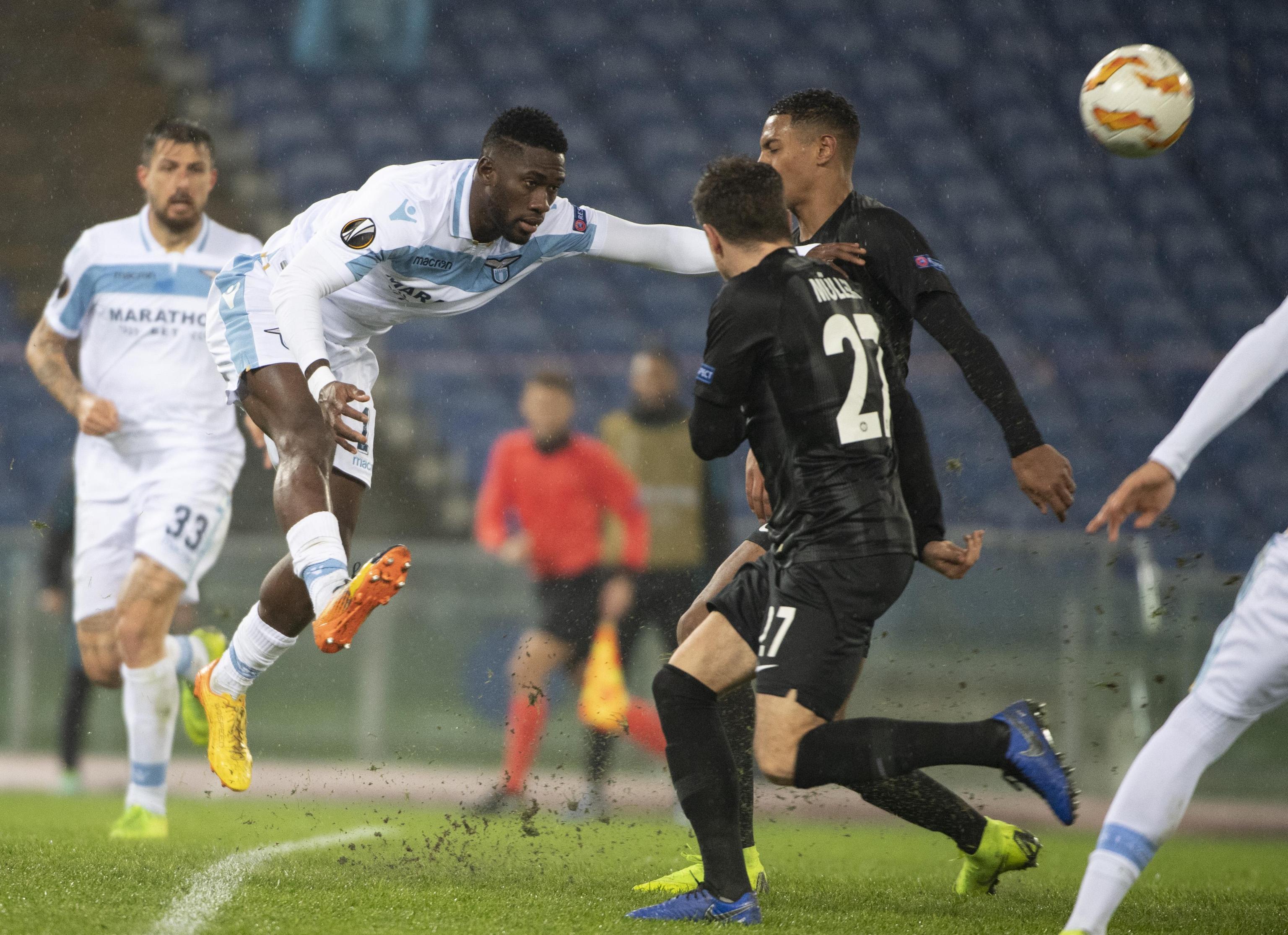 Lazio-Eintracht Francoforte: scontri a Roma, ecco tutte le foto