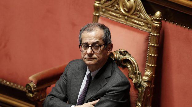 manovra, Giovanni Tria, Sicilia, Economia