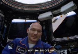 Il video dallo spazio del tedesco Alex Gerst