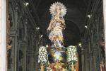 Caltanissetta, poche luci in piazza sull'Immacolata: lamentele di cittadini e commercianti