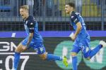 Tripletta di Zapata contro l'Udinese: pari Parma, La Gumina regala i tre punti all'Empoli