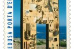 Il francobollo Lampedusa-Porta d'Europa