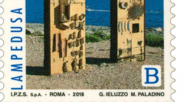 francobollo lampedusa, migranti, Agrigento, Società