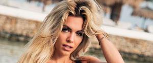 """Dal calcio alla musica: la sexy Ludovica Pagani lancia il suo singolo """"Perdoname"""""""