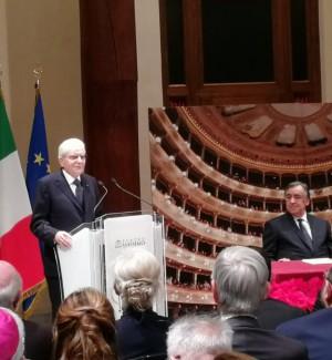 Mattarella al Teatro Massimo di Palermo per la prima della Boheme: video e foto