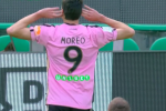 Palermo in vantaggio contro il Livorno, la sblocca Moreo: 1-0 - La diretta