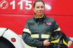 """Nada, l'unica donna vigile del fuoco a Trapani: """"Un sogno realizzato"""""""