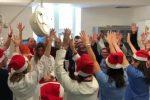 Buon Natale dall'Ospedale dei Bambini di Palermo, musica e danze in ricordo di Liotta