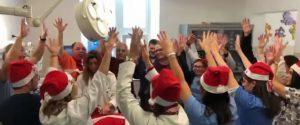 Buon Natale dall'Ospedale dei bambini di Palermo, danze e sorrisi nel ricordo di Giuseppe Liotta