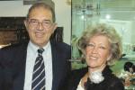 Ninni Fecarotta con la moglie Valeria
