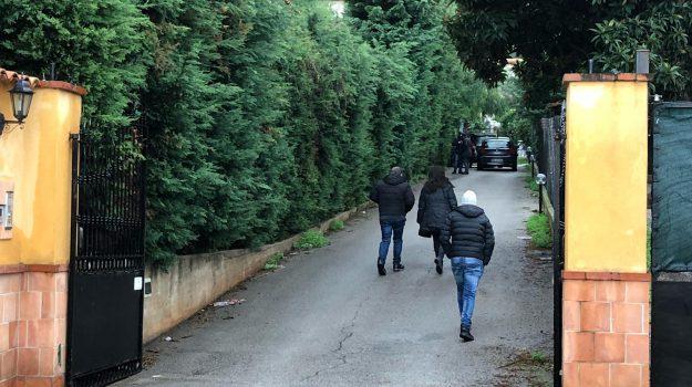 Il luogo dove è avvenuto l'omicidio, nella zona di Falsomiele a Palermo