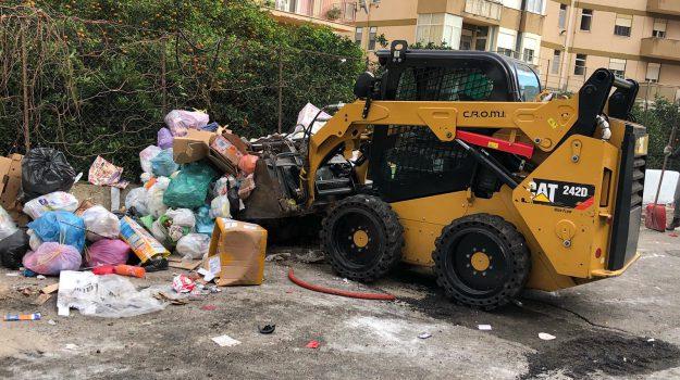 emergenza rifiuti palermo, incendi rifiuti, Palermo, Cronaca