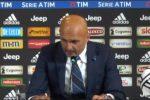 """Juve-Inter, Spalletti: """"Troppi errori tecnici e anche un po' di sfortuna"""""""