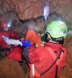 In azione il Soccorso alpino e speleologico siciliano