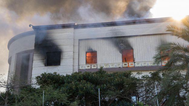 attentato ministero Tripoli, Isis, Sicilia, Mondo