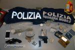 Armi e droga in casa a Vittoria, arrestato un cinquantenne