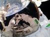 Spazio e astronauti fanno sognare 9 europei su 10. Nella foto lastronauta dellEsa Luca Parmitano durante uan passeggiata spaziale (fonte: ESA/NASA)