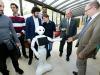 Un momento dei test con il robot Pepper (fonte: Konica Minolta Laboratory Europe)