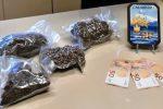 Spaccia marijuana e denaro falso a Calatabiano, arrestato un imprenditore