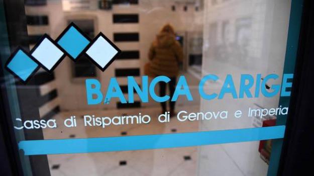 banca, carige, ladri, Agrigento, Cronaca