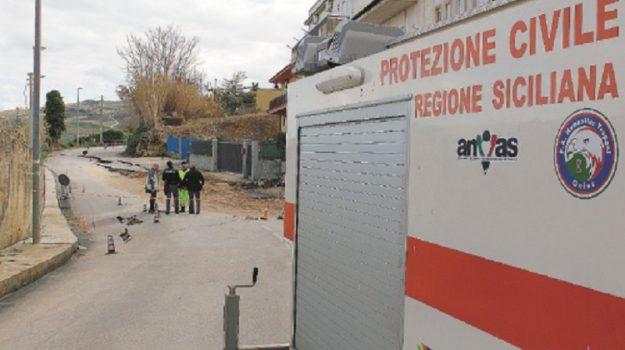alcamo case evacuate, Trapani, Cronaca
