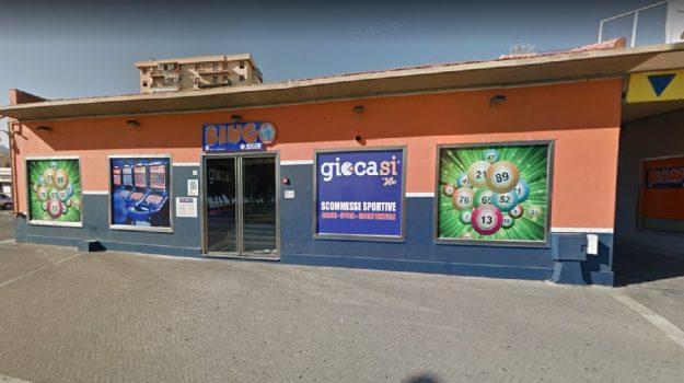 rapina bingo palermo, Palermo, Cronaca