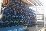 Trasporta bombole senza i requisiti di sicurezza, sequestro del camioncino e multa a Messina