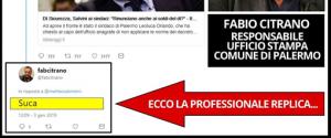 Palermo, tweet volgare contro Salvini: bufera sull'addetto stampa del Comune