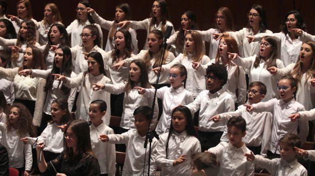 concerto kids palermo, coro voci bianche teatro massimo palermo, Palermo, Cultura