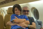 """Flavio Briatore: """"Mio figlio non andrà all'università, sarò io a formarlo"""""""