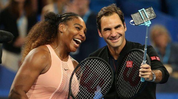 doppio misto usa svizzera, federer contro serena williams, Roger Federer, Serena Williams, Sicilia, Sport